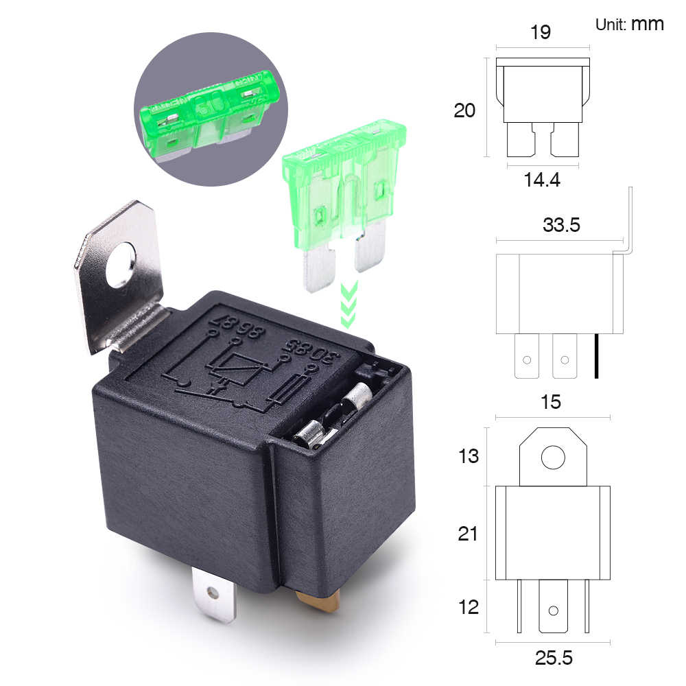 Astounding Detail Feedback Questions About Mictuning 12V Fuse Relay Switch 6Pcs Wiring Cloud Hisonuggs Outletorg