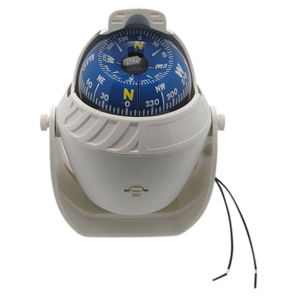 Boat Parts & Accessories New Sea Marine Pivoting Compass Adjustable Boat Ship Vehicle Compass Led Light Navigational Positioning Compass With The Most Up-To-Date Equipment And Techniques