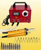 Многофункциональная профессиональная машинка для пирографии  ручка для выжигания  100 Вт  220 В  для Gourd  Plank  Leather  bark