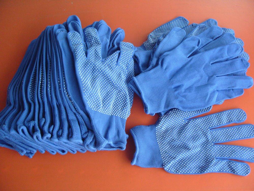 Doprava zdarma 12 párů Nylon dot plast Palm Protiskluzová ochrana - Sady nástrojů - Fotografie 2