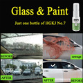 Жидкое стекло для автомобильной краски/фар/стекла  гидрофобное покрытие  водонепроницаемый непромокаемый агент на лобовое стекло  спрей от...
