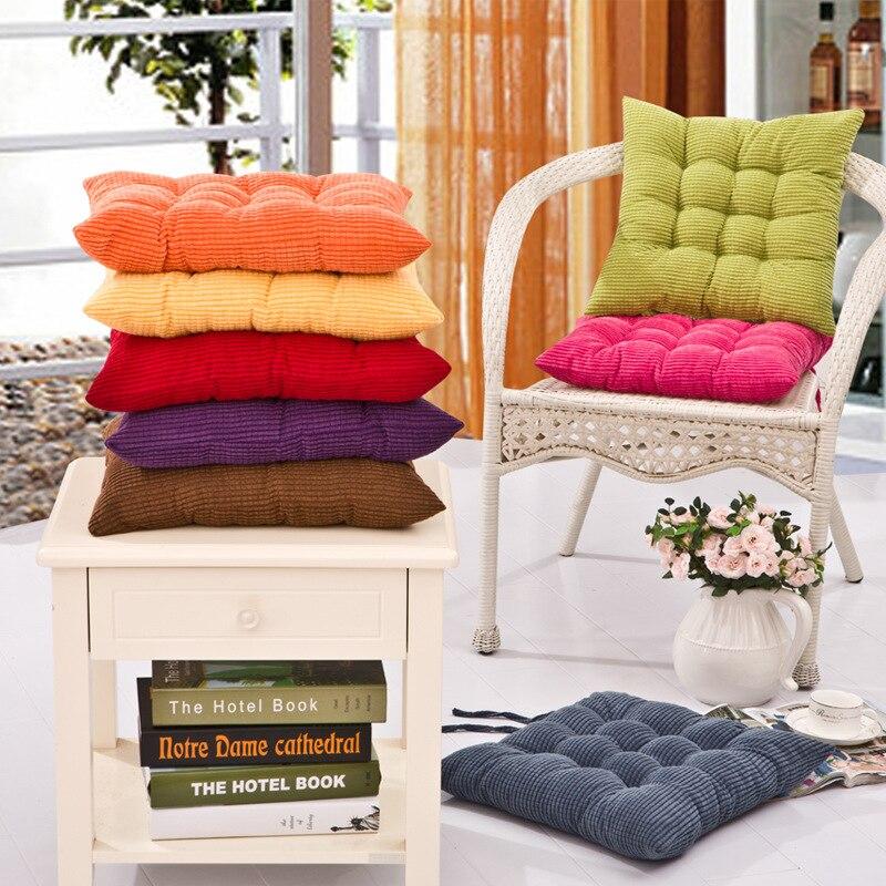 Fashion Small Square Soft Thick Pure Colorful Decorative