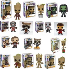 POP Guardians of the Galaxy 2 Action Figure modello PVC Figuras Rocket tree man Action Figures giocattoli regali