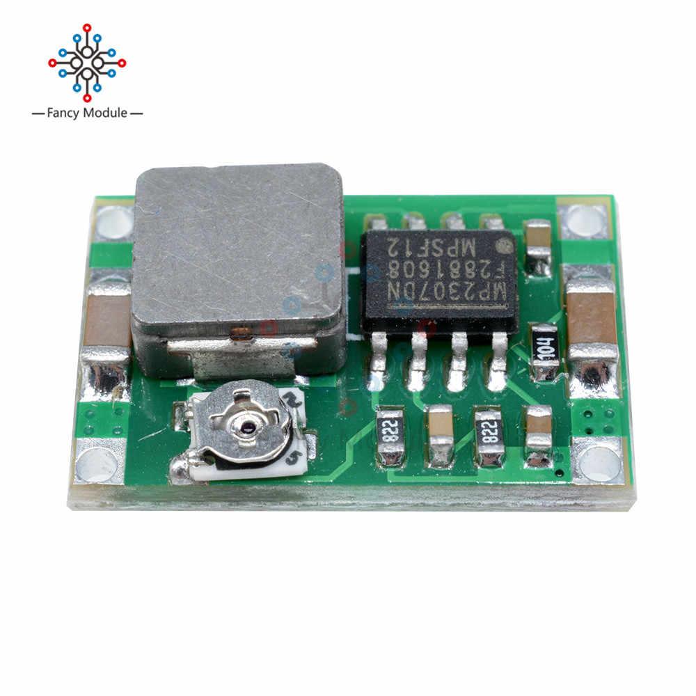 Diymore Mini convertisseur de courant continu abaisseur alimentation MP2307 Module de voiture de contrôle de vol