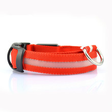 Nylon LED Collars for Dogs Cats