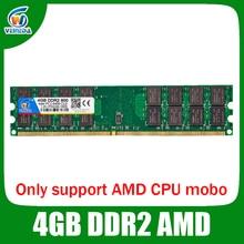 VEINEDA 4G DDR2 800/667 4gb ram memoria work desktop amd mobo compatible ram ddr2 pc2 – 6400