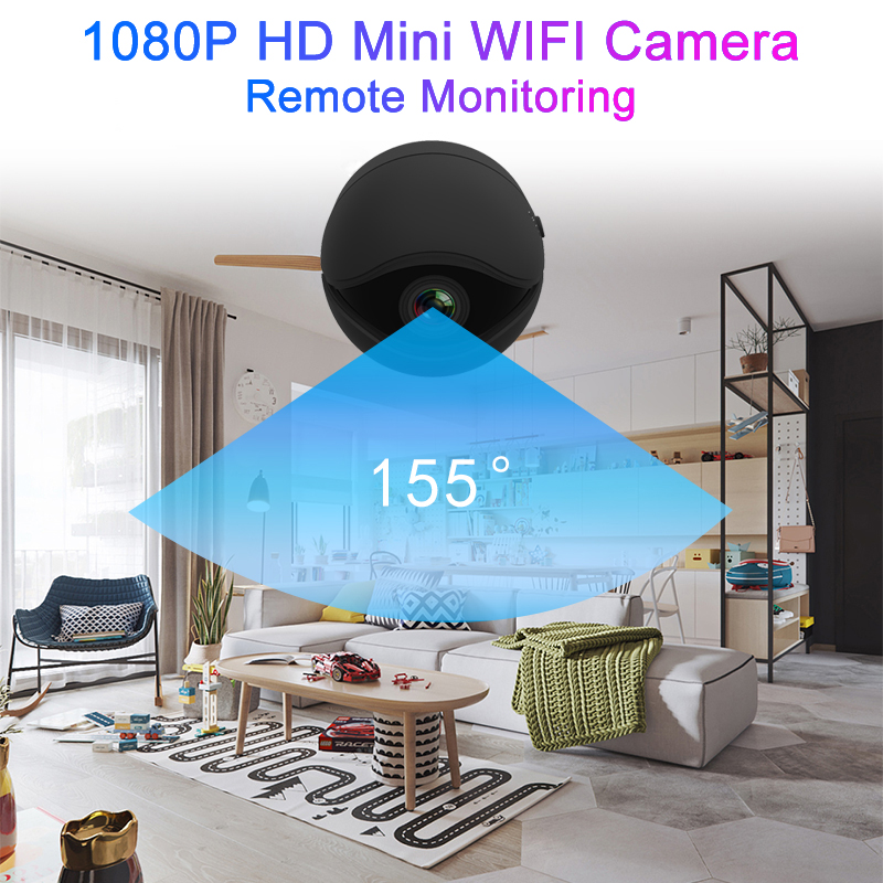 Mini Wifi Camera security Night Version Action Camera with motion Sensor Camcorder Voice Video Recorder Small