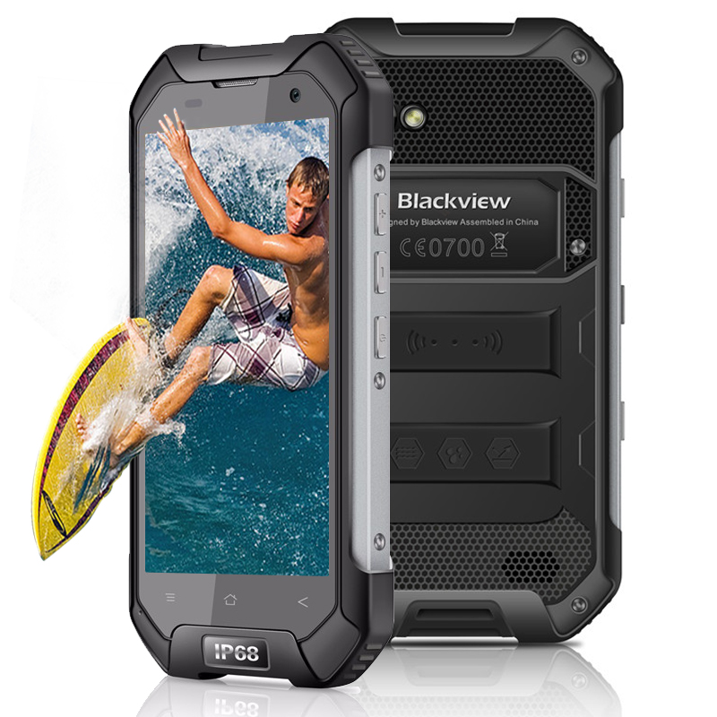 Blackview BV6000 Waterproof font b Smartphone b font Android 6 0 3GB RAM 32GB ROM MT6755