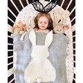 Ins explosão crianças cobertor do bebê colcha de ar condicionado cobertor coelho malha filhos adoráveis dos desenhos animados algodão swadding