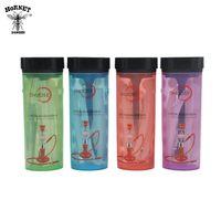 HORNET Acrylic Portable Hookah Easy Outdoo Mini Bottle Hookah Plastic Cup Shisha