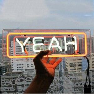 Image 2 - うん愛家の象徴的なサインネオンサインチューブランプ手作りカスタムデザインネオン電球ビールバーパブのホーム Ktv プロ照明