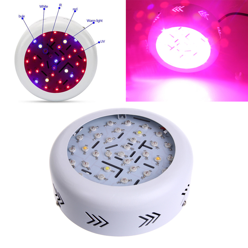 2018 High Efficiency 360W AC 85-265V 36 LED LED Grow Light Full Spectrum Hydro Flower Plant US Plug LED Grow Light us plug 3w rgb revolving led light yellow white ac 85 265v