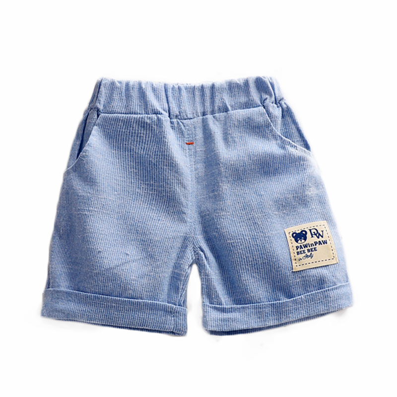 Shorts For Boy Summer 2018 Elastic Waist Children Swimsuit Casual Kids Breeches Short Leggings Striped Baby Clothes ARISONBELAE grey summer girls short leggings triple ruffle panties for children baby elastic waist skinny shorts pants