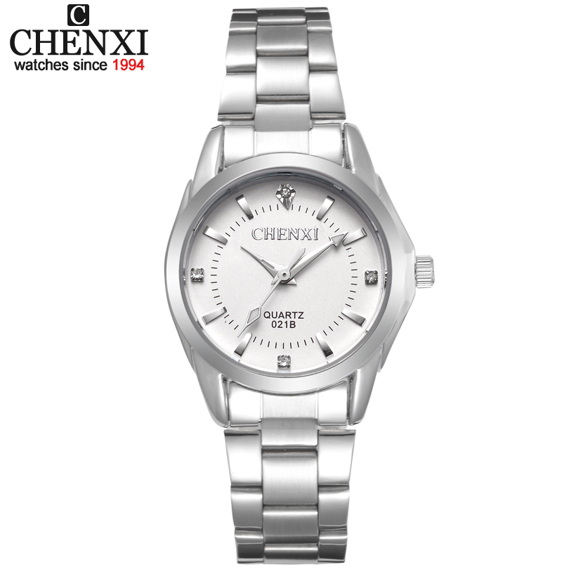 CHENXI Luxury Brand Fashion watches Women xfcs Ladies Rhinestone Quartz Watch Women's Dress Clock Wristwatches relojes mujeres women men quartz silver watches onlyou brand luxury ladies dress watch steel wristwatches male female watch date clock 8877