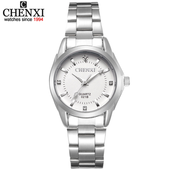 CHENXI Luxury Brand Fashion watches Women xfcs Ladies Rhinestone Quartz Watch Women's Dress Clock Wristwatches relojes mujeres