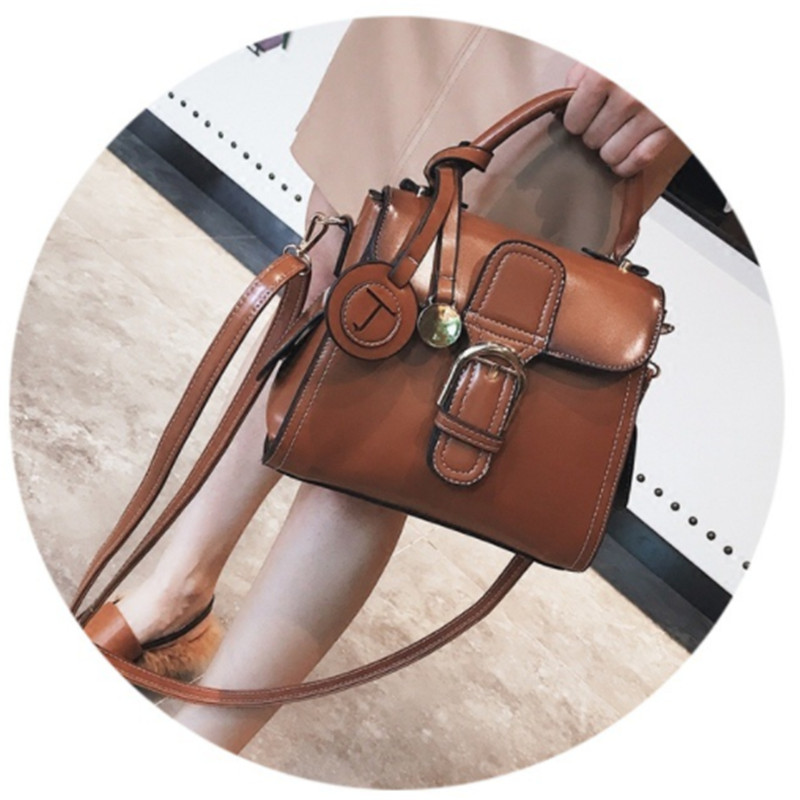 B0061 Women Messenger Bags Vintage Tote Shoulder Leather Handbags For Famous Luxury Brand Designer Bolsa Feminina Mujer Sac Main цены