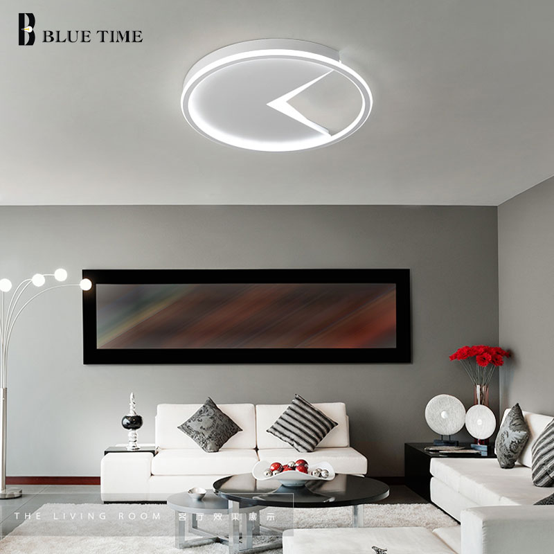 Ceiling Mounted Creative Modern LED Chandeliers For Living room Bedroom Kitchen Luminaries White Acrylic Chandelier Lightings european style living room modern minimalist white pastoral led chandelier ceiling bedroom chandeliers