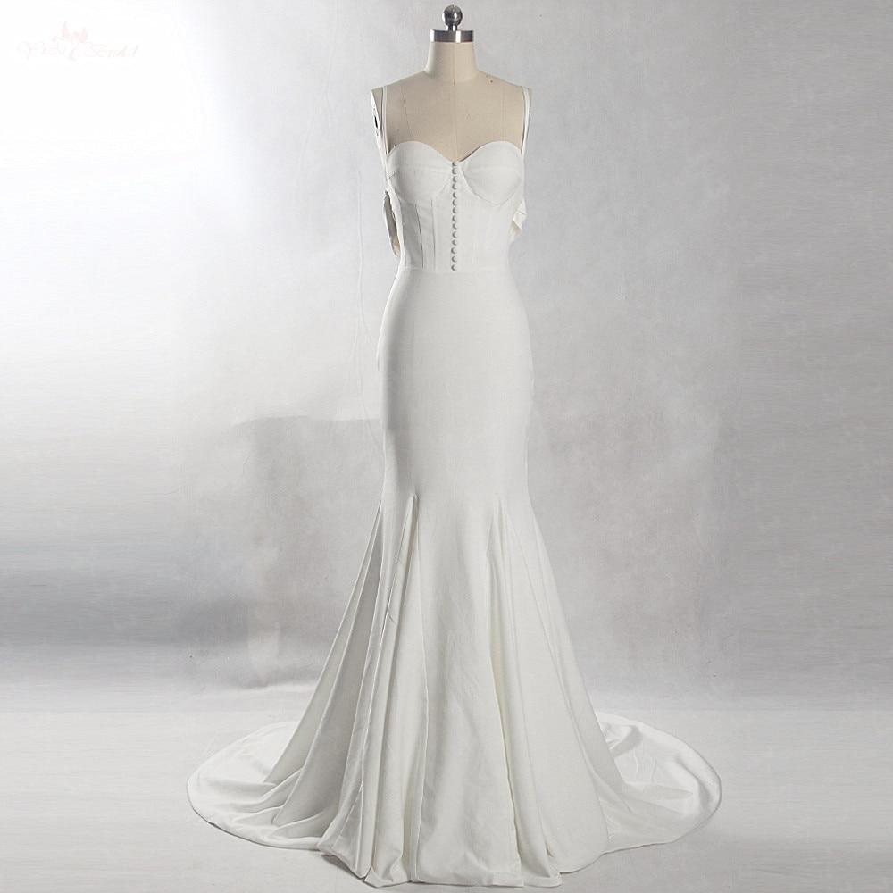 R 89033 Rsw813 2018 Praia Vestido De Noiva Elegante Vestido De Noiva Simples Em Vestidos De Casamento De Casamentos Eventos No Aliexpresscom