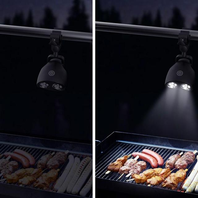 2016 newest chefs kitchen adjustable barbecue led clip light for 2016 newest chefs kitchen adjustable barbecue led clip light for night grilling black aloadofball Image collections