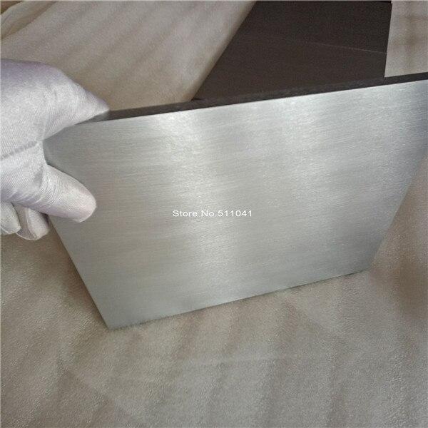 Plaque en alliage de titane grade5 gr.5 Gr5 feuille de titane taille 10*200*200, 7 pièces prix de gros, Paypal ok, livraison gratuite