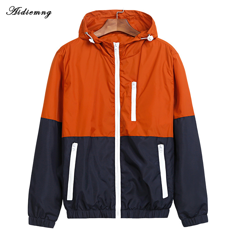Jackets Women 2018 Autumn New Fashion Jacket Womens Hooded basic Jacket Casual Thin Windbreaker female jacket Outwear Women Coat