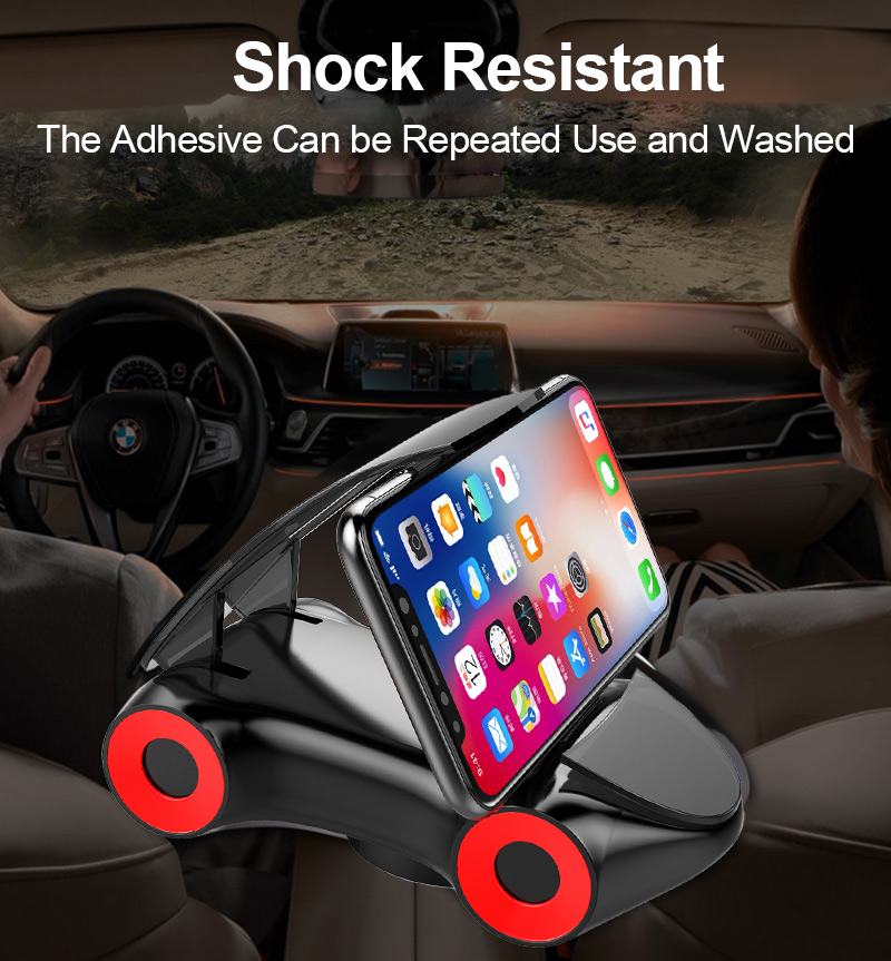 TOMKAS Universal Holder For Phone in Car Dashboard Sports Car Models Phone Car Holder Mobile SmartPhone Support Holder Stand