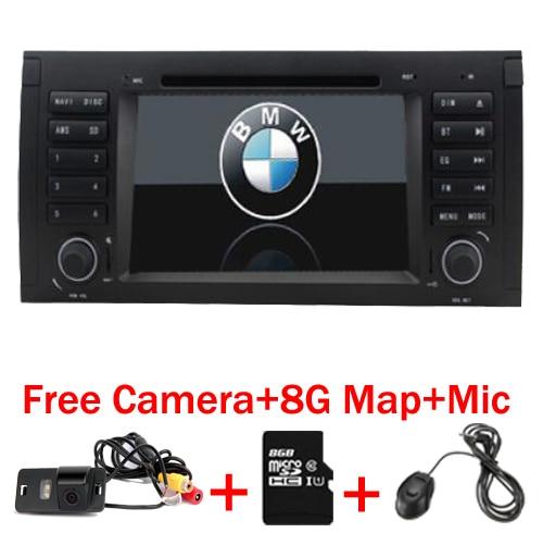 """imágenes para 7 """"Capacitiva Pantalla táctil de Coches Reproductor de DVD para BMW E39 e53 x5 dvd GPS Bluetooth Radio RDS Canbus USB Envío 8 GB GPS mapa cámara"""
