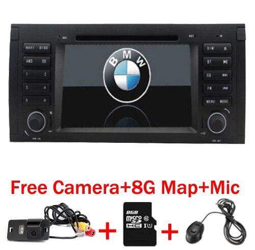 7 Capacitive touch Screen Car DVD Player for BMW E39 e53 x5 dvd GPS Bluetooth Radio