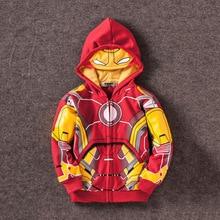 Avengers Iron Man Thor Hoodie for Boys