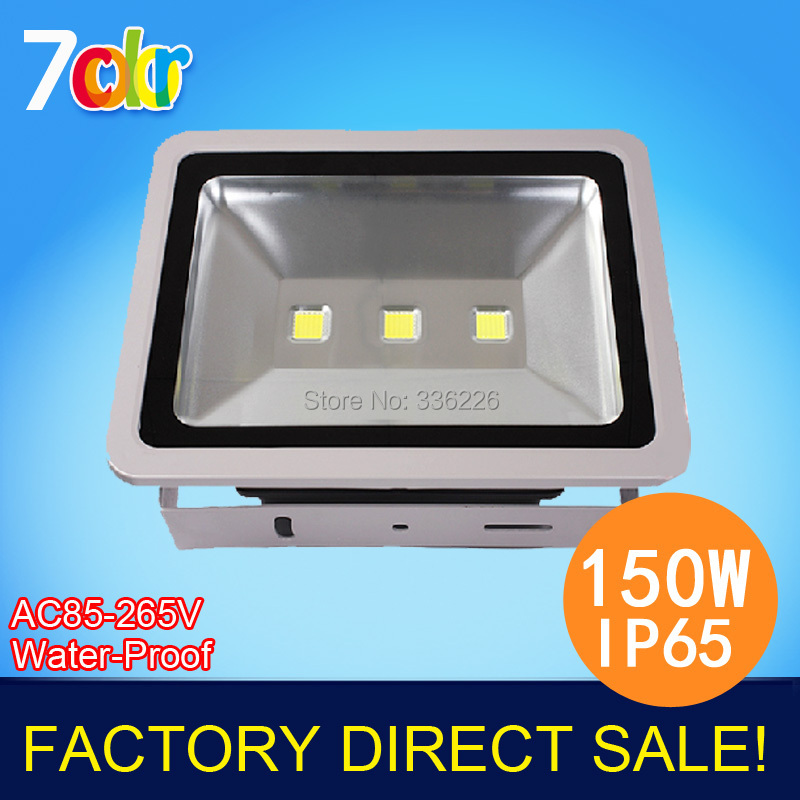 Dusk To Dawn Light Rural King: 5pcs/lot Free Shipping Factory Sale! 150W LED Floodlight