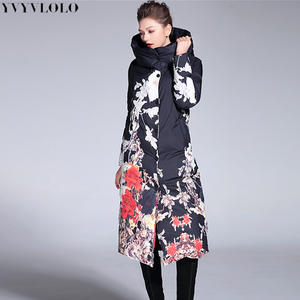 60508b63c4919 YVYVLOLO Long Parkas Women Down Winter Coat Warm Jacket