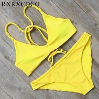 2016 Yeni Bikini set Hayvan Baskılı Mayo Kadınlar Push Up Brezilyalı Eski Mayo Plaj Aşınma Maillot De Bain