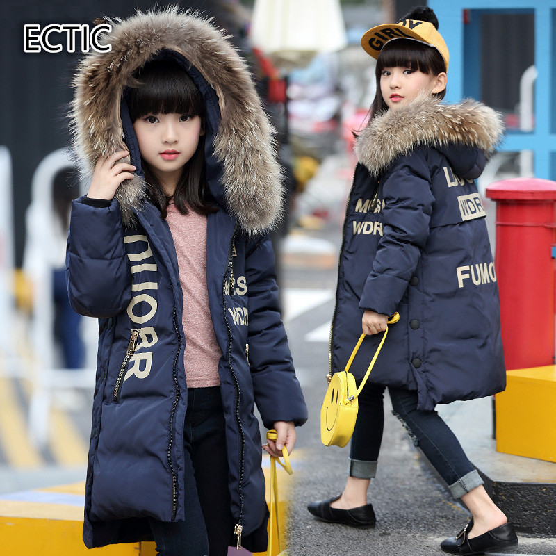 2017 Fashion Girl's Down jackets winter Russia baby coats thick duck Warm jacket for girls boys Children Outerwears -30 degree fashion 2017 girl s down jackets winter russia baby coats thick duck warm jacket for girls boys children outerwears 30 degree
