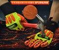 Ударопрочные защитные перчатки для нефтяных местностей  кожаные перчатки для ладони  противоударные механики  газовые промышленные рабочи...