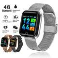 LIGE 2019 новые умные спортивные часы женские умные часы мужские пульсометр монитор кровяного давления фитнес-трекер Шагомер умный Браслет