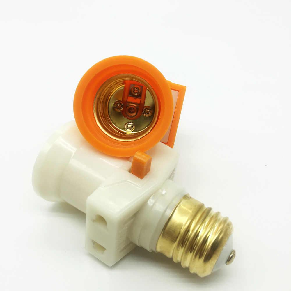 PVC Fireproof Materials Lamp Holder E27 Pendente Switch AC 110V/220VLed  E27 Bulb Adapter Pure Copper Edison Led Vintage Pendant