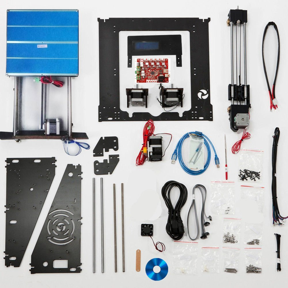 3d-Printer Prusa I3 Reprap Upgraded DIY High-Precision Full-Quality LCD Latest