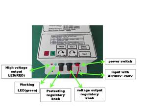 Image 5 - Fuente de alimentación de alto voltaje de 300W con salida de 30 kV para eliminar humo negro de la lámpara, purificador de aire electrostático, campo electrostático