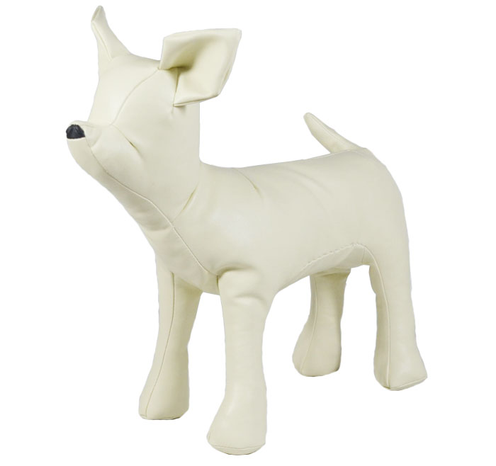 ציוד לחיות מחמד כלב דגם שחור, עור לבן כלבי צ ' יוואווה מודל משלוח חינם
