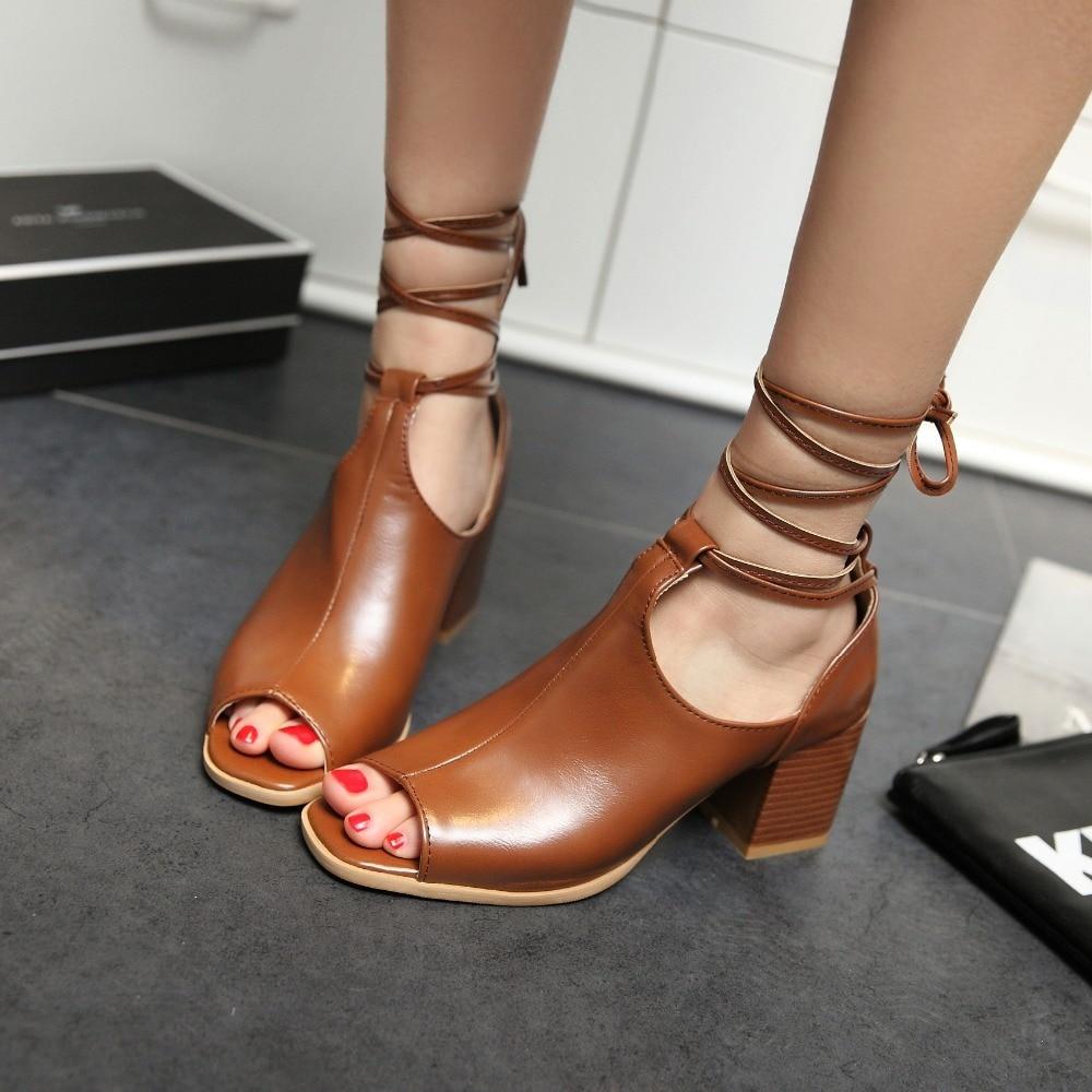 fashion new arrival big size 11 12 women shoes peep toe woman mature