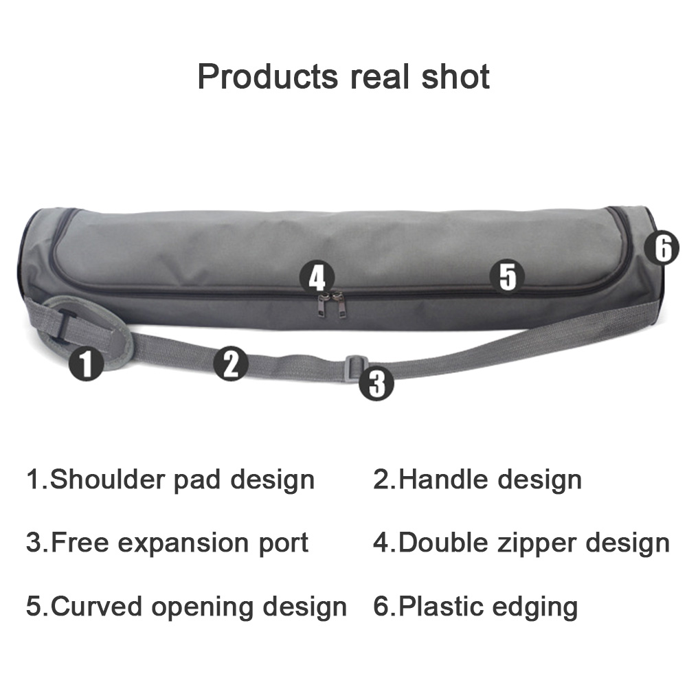 72*15cm Yoga Gym Bag Yoga Mat Bag Waterproof Backpack Yoga Pilates Mat Case Bag For Women