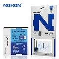 Original NOHON Battery For Samsung I727 I515 E110S E120L T989 Galaxy SII HD LTE EB-L1D71BK High Capacity 2000mAh Retail Package