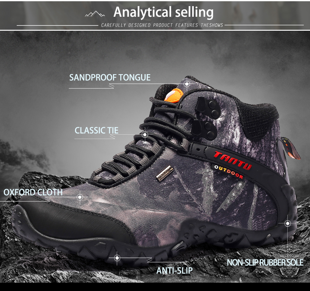 Outdoor Camouflage Tactical Sport Men\`s Shoes (6)