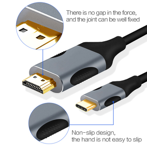 Image 2 - USB C TO HDMI 4K Cable Type C to HDMI USB C Thunderbolt 3 for MacBook,ChromeBook,Samsung S10/S9/S8+ Huawei Mate20/10 Pro P20