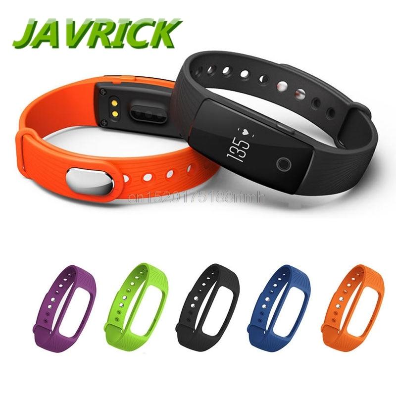 Gratis levering JAVRICK Fitness Tracker Armbånd Pulsmåler Monitor til IPRO ID107 Smart Watch