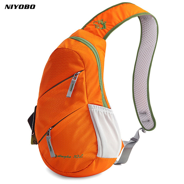 dadcfe6be Women Crossbody Bag Waterproof Nylon Travel Bag Men Shoulder Sling Bag  Unisex chest pack muscle men
