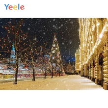Yeele Christmas Family Photocall Night Customized Photography Backdrops Personalized Photographic Backgrounds For Photo Studio