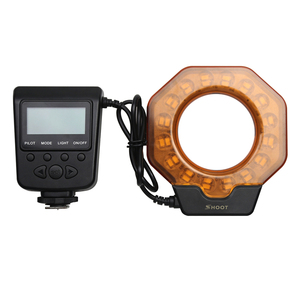 Image 5 - Flash Led Macro pour Canon MarkIII Nikon Olympus Pentax appareil photo reflex objectif de diamètre 52/55/58/62/72/77mm