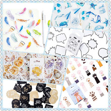 45pcs/pack Cute Boxed Decorative Stickers DIY Diary Notebook Decoration Paper Scrapbooking Gift 23 Styles Can Choose