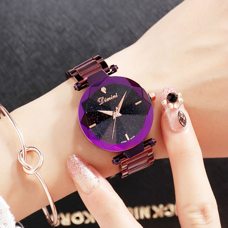 Women Watch Stainless Steel Quartz Watches Fashion Luxury Ladies Watches Japan Movement Clock Wristwatch Relogio Feminino relogio feminino sinobi watches women fashion leather strap japan quartz wrist watch for women ladies luxury brand wristwatch